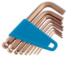 Imbus klíče s kulovou hlavou - sada 9 ks